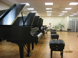steinway factory